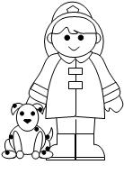 fireman coloring page # 12