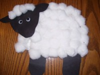Sheep Paper Plate Projects