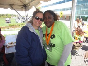 This girl will always be one of my faves, even though we don't see each other much. No matter what was going on with her, she always showed up for the MS Walk, even though she was one of my very first adoptees.