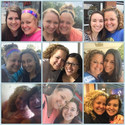 "These are just a few of the most recent selfies with some of my kids. They are all at different stages in their lives, and I am super proud of each one of them, including all of my ""kids"" that are not pictured here."