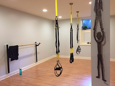 Workouts are different every single session, and often include some TRX moves, which no one ever thought people with MS could do.