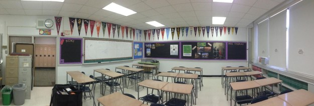 This was my home for many years, and now my world is so much larger than this one classroom.