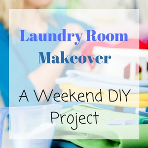 Laundry Room Makeover – A Weekend Organization Project