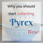 You Should Start Collecting Pyrex® Colored Glass NOW!