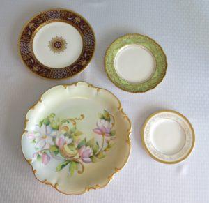 Porcelain china pieces