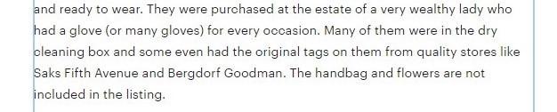 Etsy shop listing description 5 Tips to write a description that sells