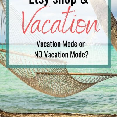 Vacation Mode or No Vacation Mode? That is the Question