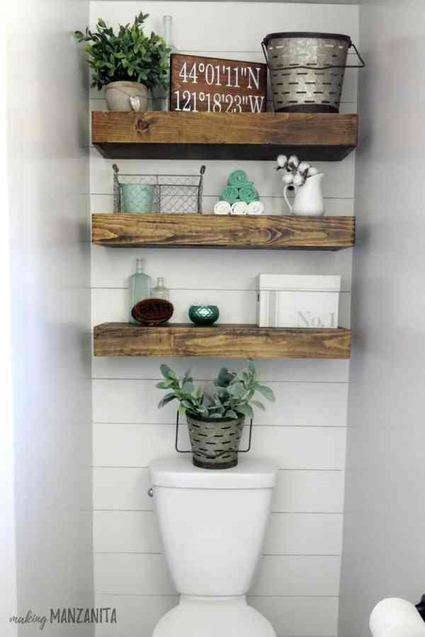 Farmhouse Master Bathroom Reveal - Making Manzanita