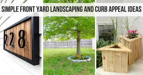 simple front yard landscaping