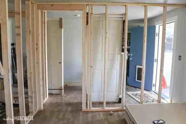 Build Wall Part 2 Framing Door - Making