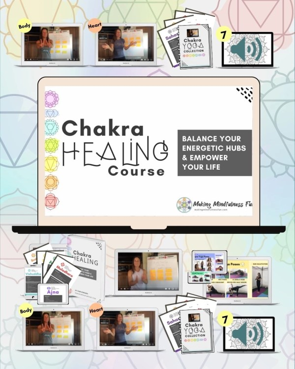 Chakra Healing Course, Power Passion Productivity