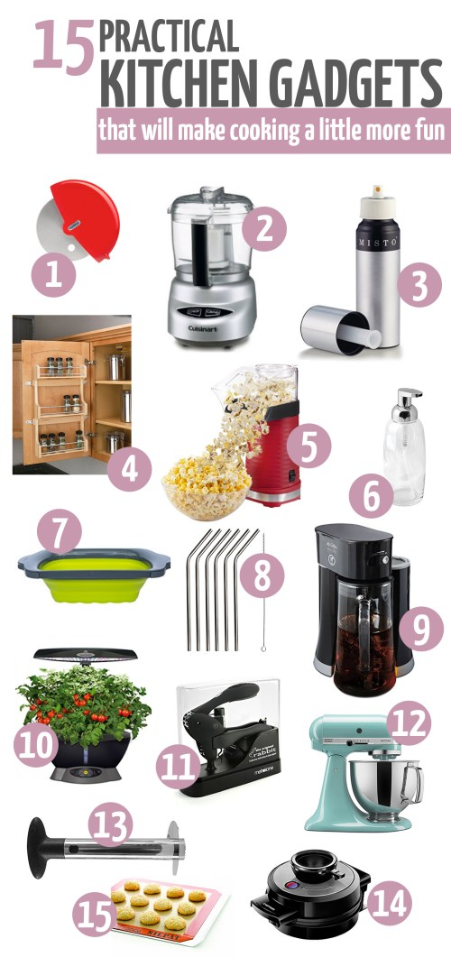 15 practical kitchen gadgets that will make cooking a little more fun
