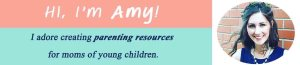 Making Motherhood Matter. I adore creating parenting resources for moms of young children.