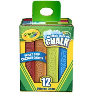 summer sidewalk chalk for toddlers
