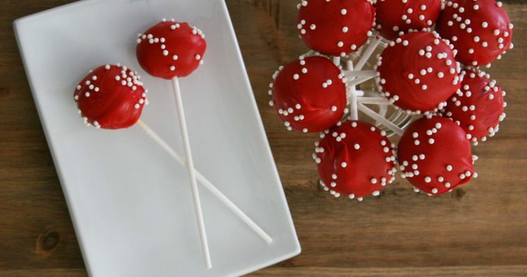 Red Velvet Cake Pop Recipe