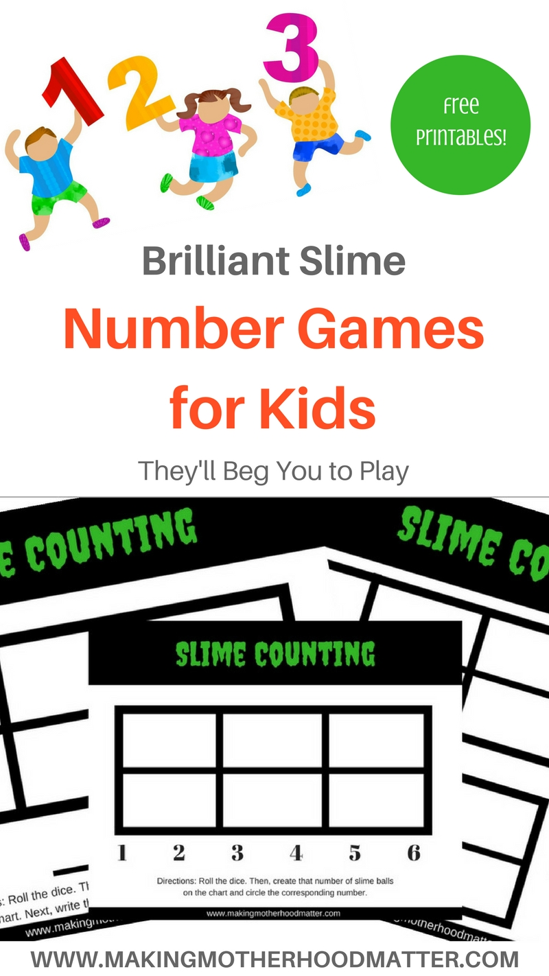Brilliant Slime Number Games for Kids They\'ll Beg You to Play |