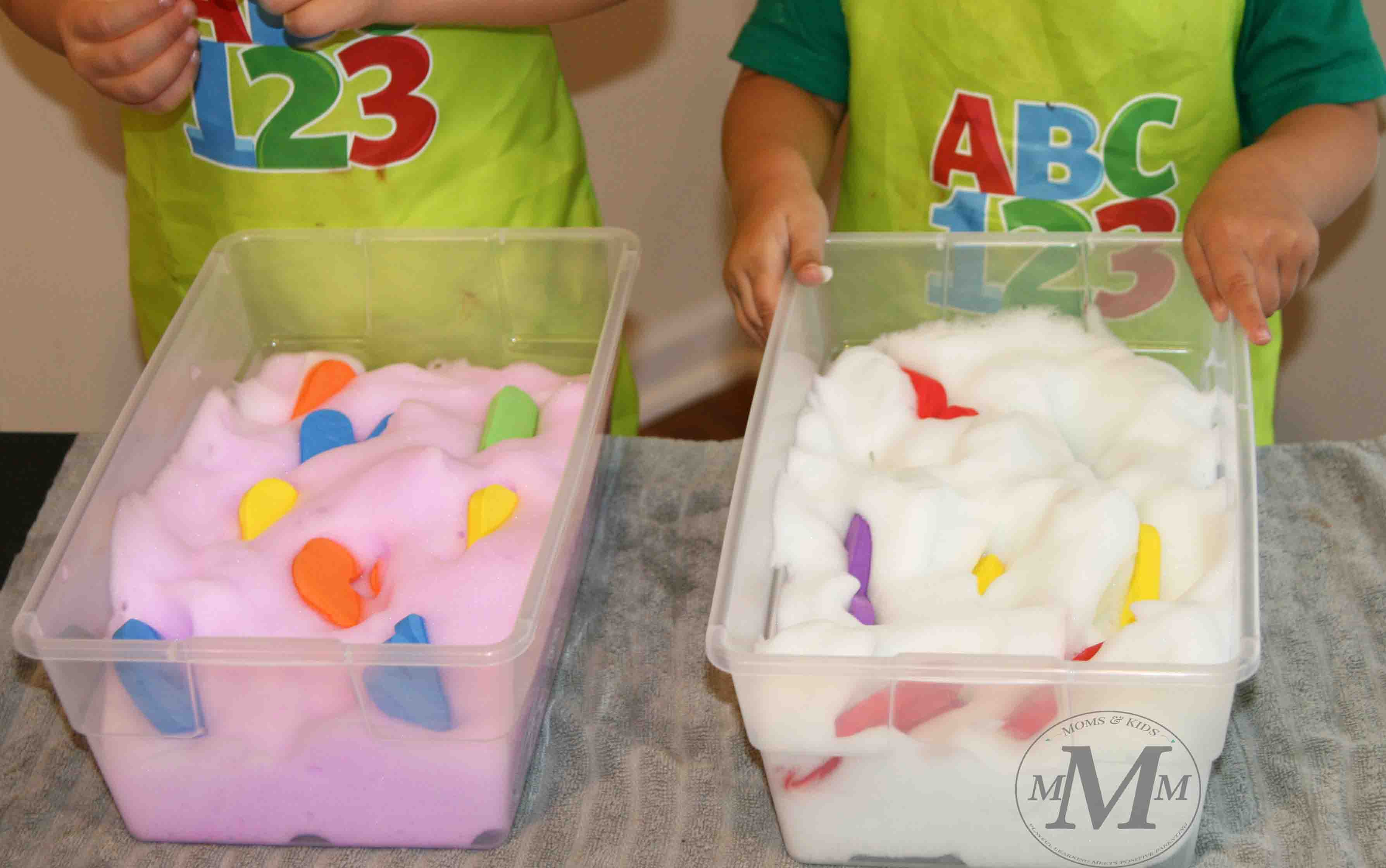 5 Preschool Activity Ideas For Exploring Bubble Foam That