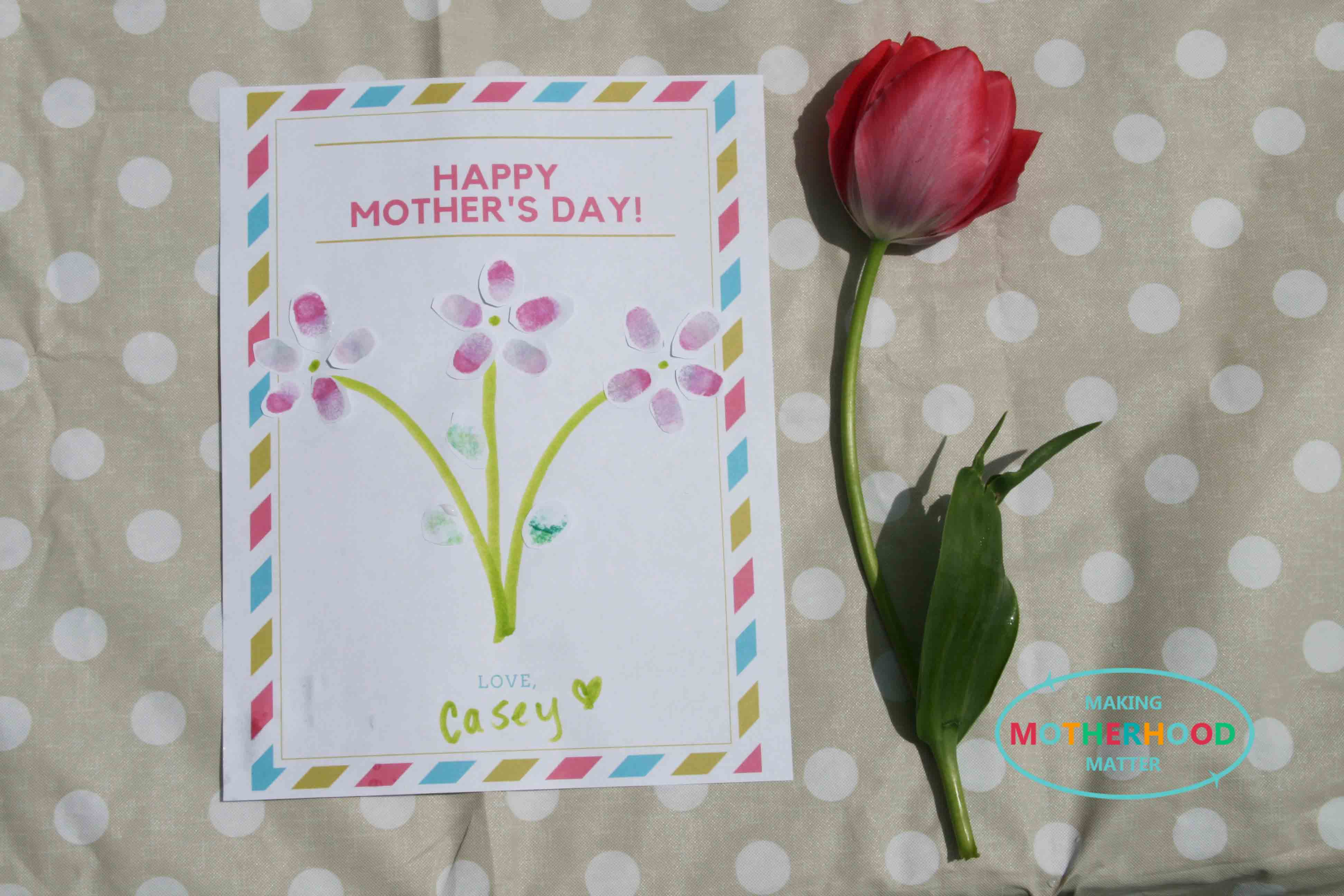 Make a mom smile with homemade cards that are easy to print and fun for your kids to color. Easy Mothers Day Craft Ideas For Preschoolers That Will Make You Go Aww Making Motherhood Matter