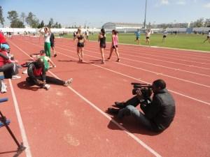 Ayobami filming Francis