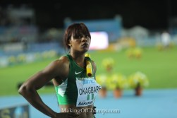 Okagbare leads Nigerian team to 2017 World Relays