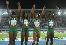 Nigeria's women are 4x200m World Champions
