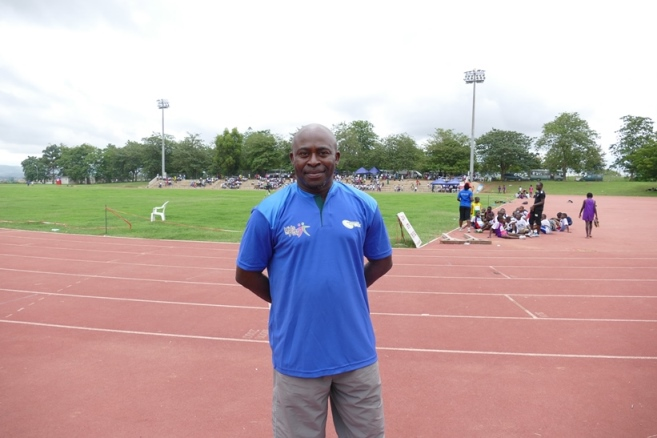 Initiator and Co-ordinator of the competition, Mr Mike Enahoro.