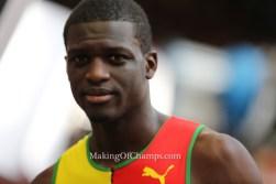Kirani James out of London World Championships