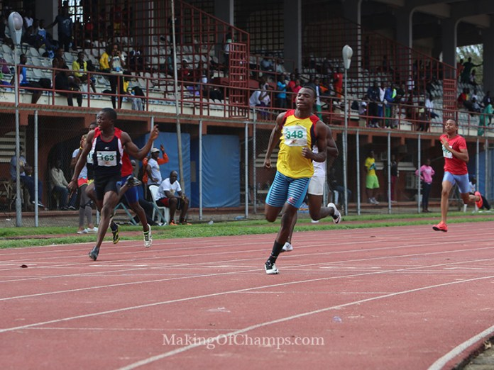 Top Sprinter auditions