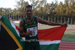 IAAF hands Van Niekerk a chance for World Champs double