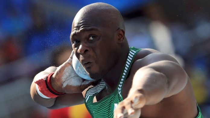 Stephen Mozia in action for Nigeria at the Rio 2016 Olympics. Photo credit: Rio 2016.com