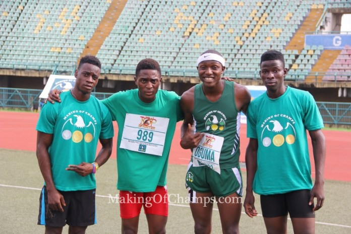 MoC placed 2nd in the Junior category of the Boys' 4x100m relay.