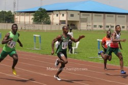 Arowolo, Ntia-Obong & Idamadudu clock SBs at All Comers in PH