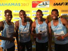 Brilliant Botswana snatch 4x400m Silver medal at IAAF World Relays