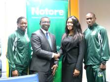 Notore Statement announcing Sponsorship of MoC Track Club in Lagos