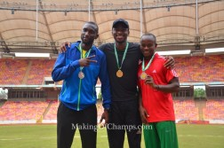 Seye Ogunlewe claims 3rd consecutive 100m title at 2017 All Nigeria T&F Champs