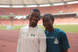 The Nathaniels are Nigeria's first siblings to the World Championships in 18 years