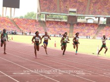 Aniekeme Alphonsus claims 1st Senior 100m National title in Abuja