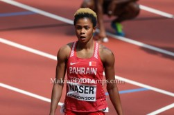 Nigerian-born Salwa Eid Naser wins World 400m Silver for Bahrain!