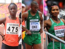 Team Nigeria Guide to 2017 World Championships – Day 4 (Monday August 7th)