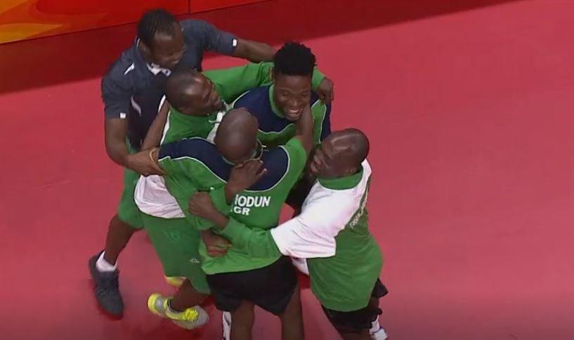 Nigeria Beat England Qualify For Mens Team TTennis