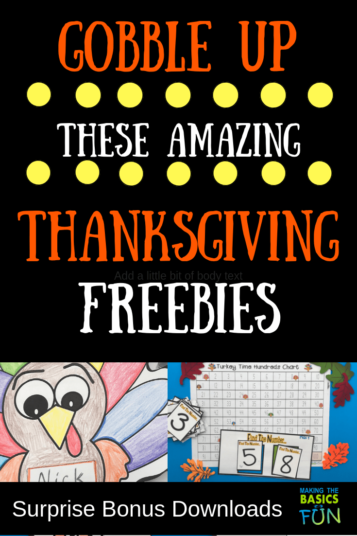 hight resolution of Gobble Up These Amazing Thanksgiving Printable Activity Freebies   Making  The Basics Fun