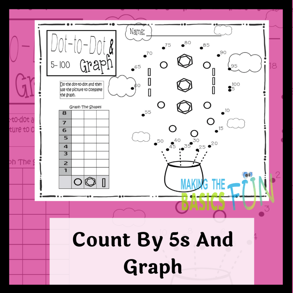 Spring Dot To Dot And Graph Printables Yes Please