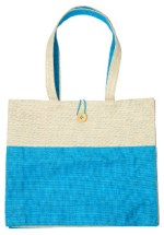 Trades of Hope Review Favorite: Eastern Blue Jute Bag | Making the Most Blog