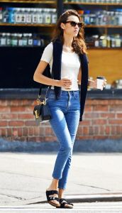 Birks with jeans