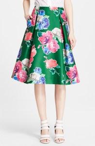 """Kate Spade """"lorella"""" floral skirt $348"""