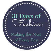 31 Days of fashion button 7