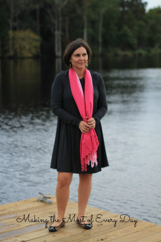 pink scarf 2 marked