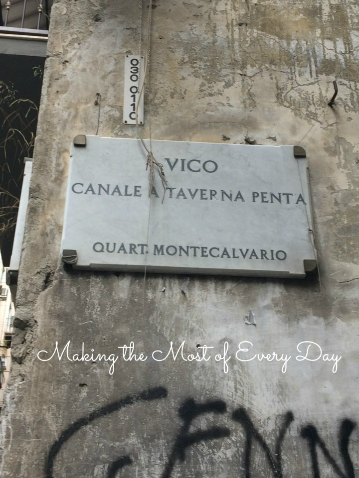 vico canale sign