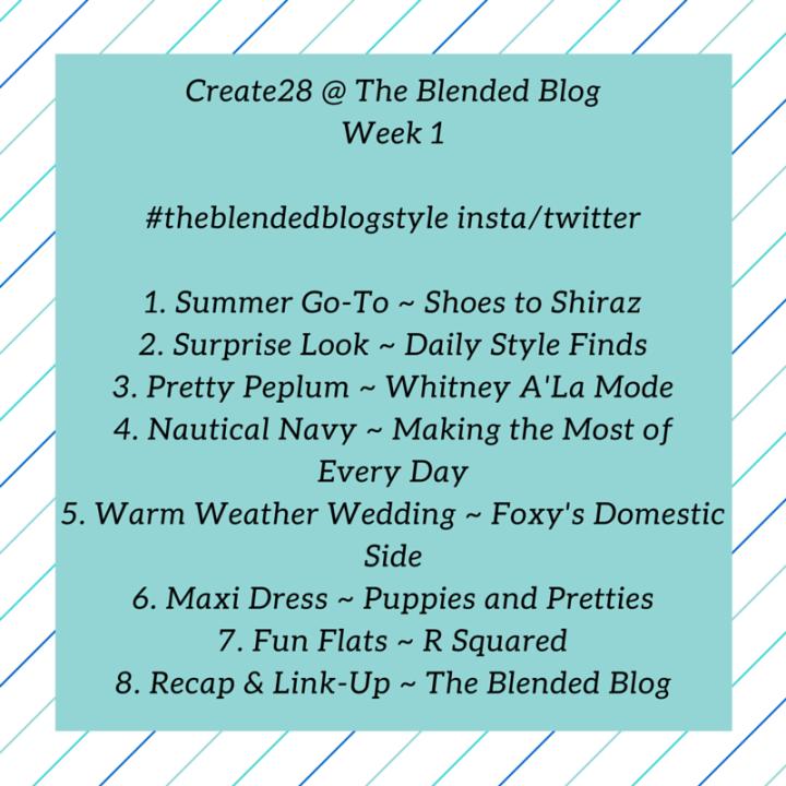 Create28-Week 1