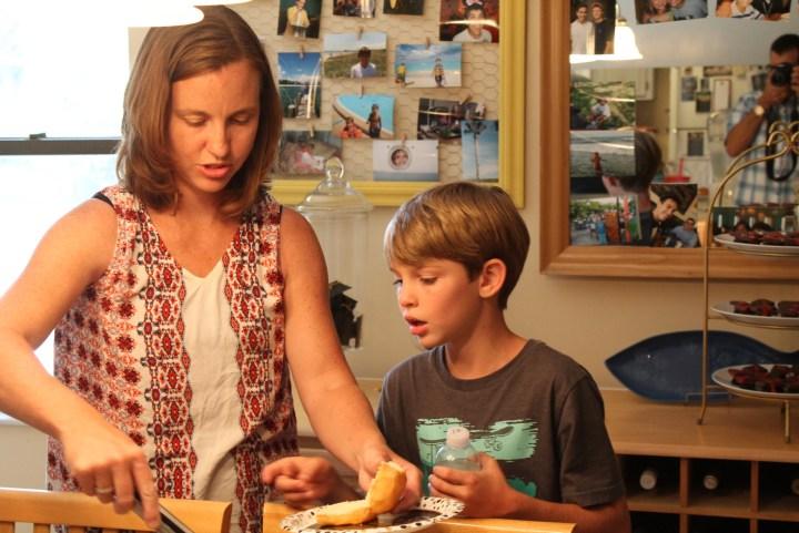Christina and Jacob lunch